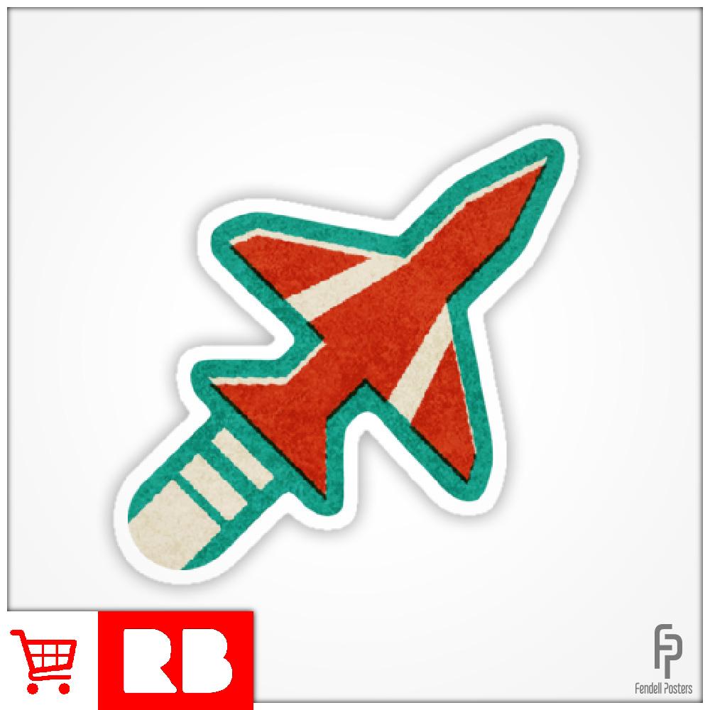 Red Arrows - Sticker