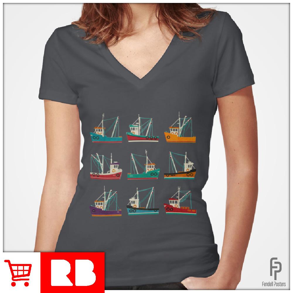 Fishing Trawlers - T-Shirts