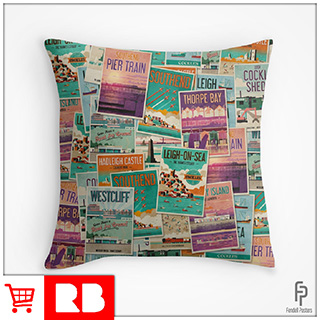 Poster Collection - Throw Pillow