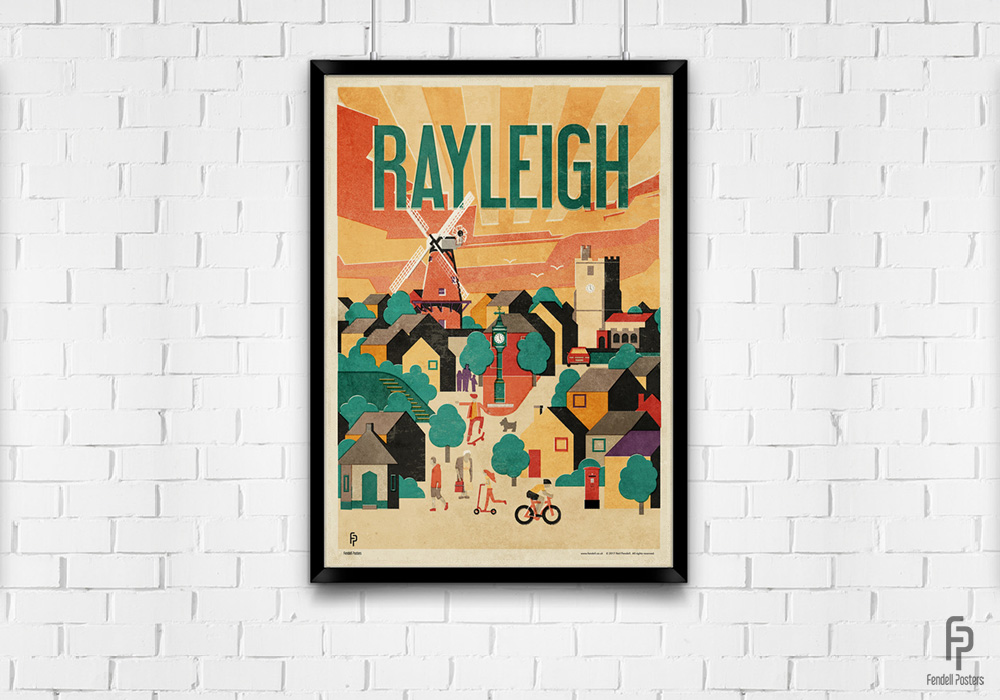 Rayleigh Poster Mock-up A2 by Neil Fendell