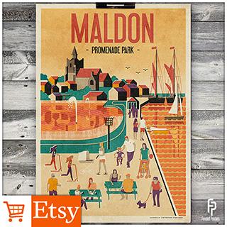 Maldon - A2 & A4 Posters