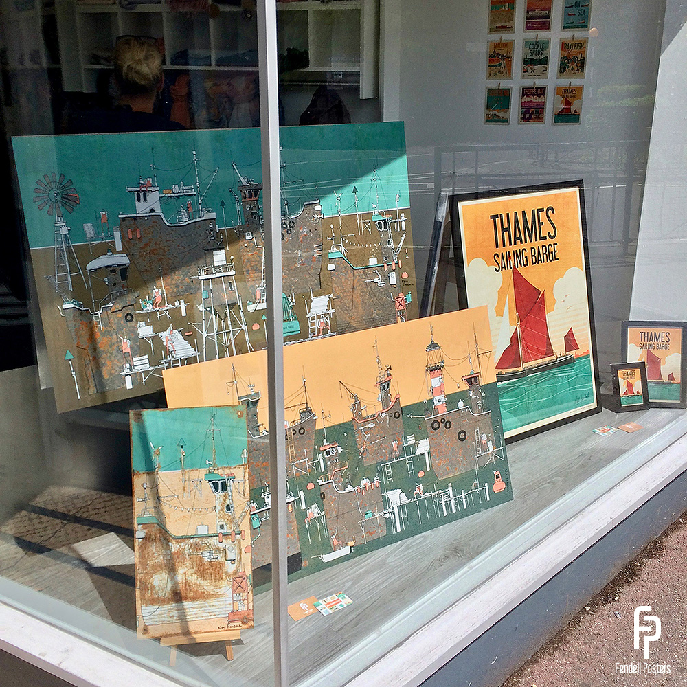 Puddle & Goose - Neil Fendell Window