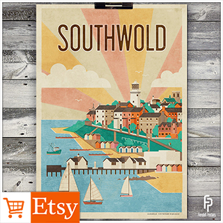 Southwold - A2 & A4 Posters