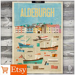 Aldeburgh - A2 & A4 Posters