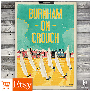 Burnham-on-Crouch A2 & A4 Poster