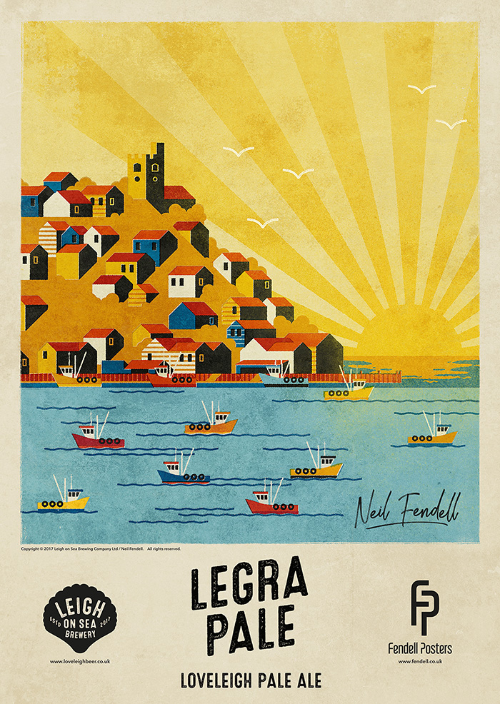 Leigh-on-Sea Brewery - Legra - Poster