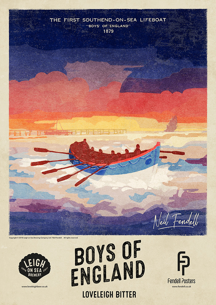 Leigh-on-Sea Brewery - Boys of Essex - Poster