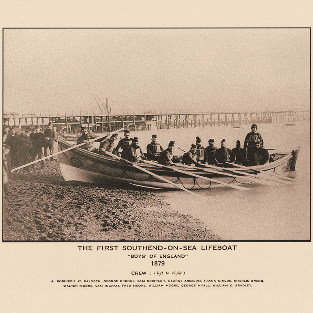 The First Southend-on-Sea Lifeboat - Boys of Essex