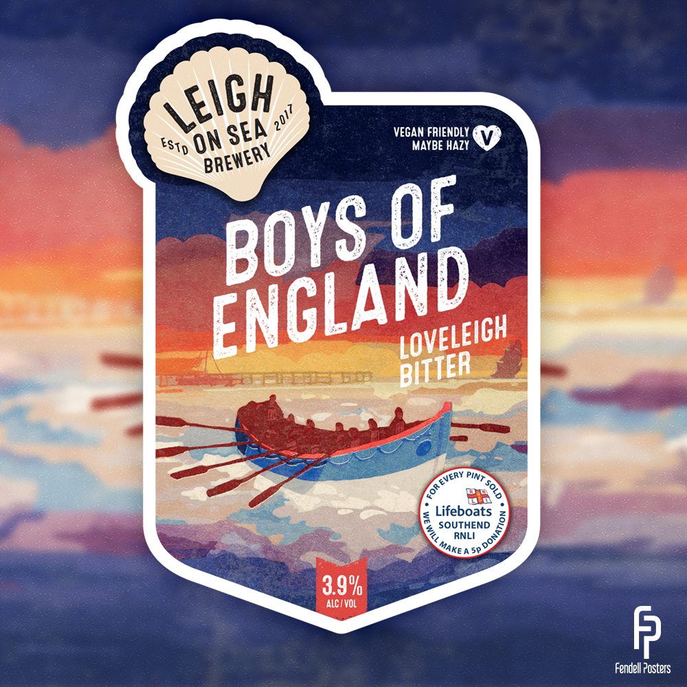 Leigh-on-Sea Brewery Pump Clip