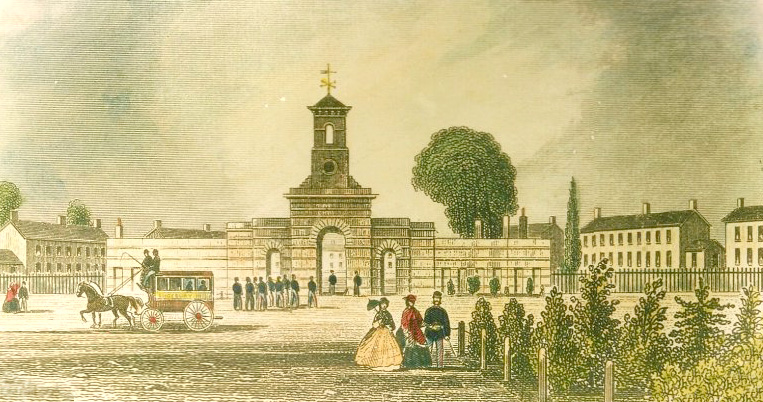 Image from inside the Barracks 1819, looking very grand.  taken from qinetiq website: www.shoeburyness.qinetiq.com