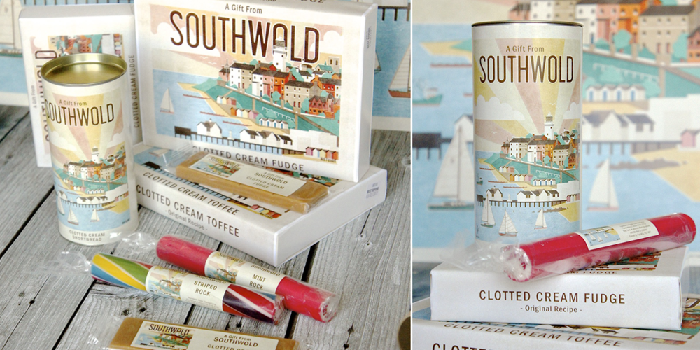 Southwold confectionary available from Chapmans