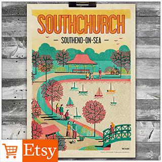 Southchurch A4 & A2 Posters