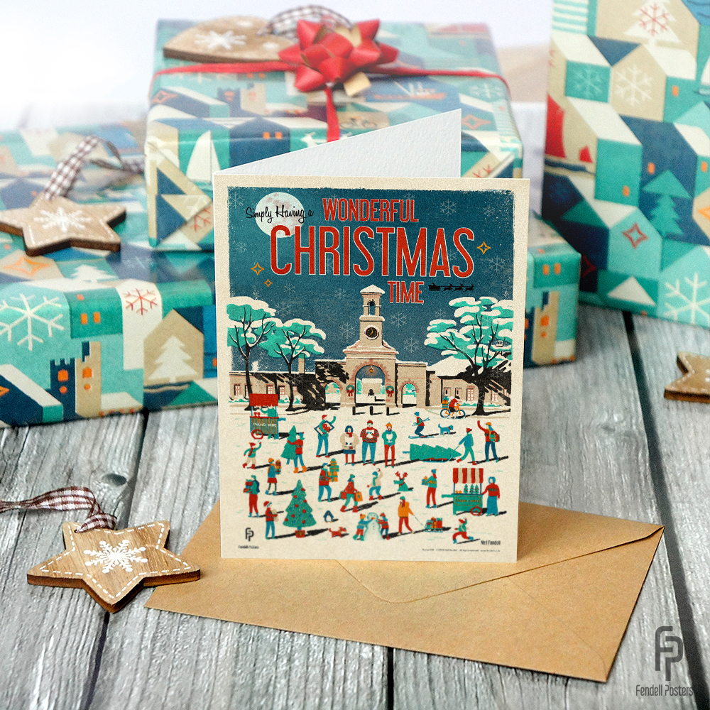 Christmas Card by Neil Fendell