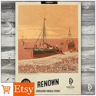 Leigh-on-Sea Brewery - Renown A2 & A4 Poster