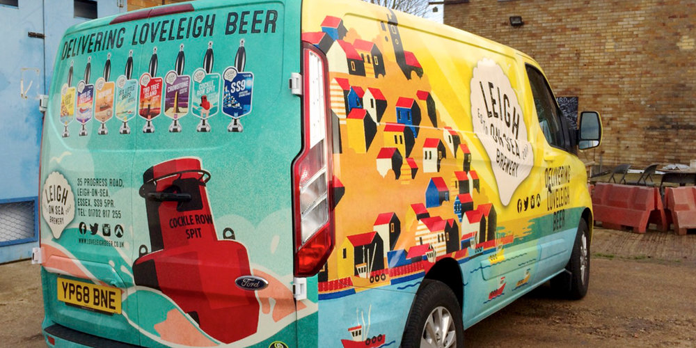 Leigh-on-Sea Brewery Van