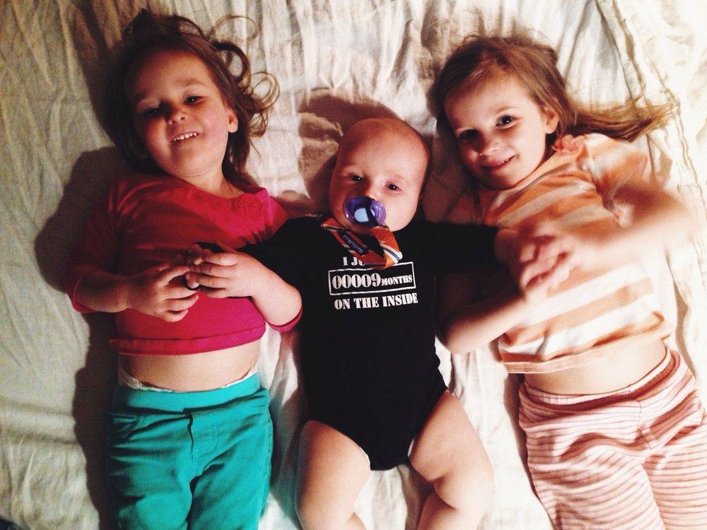 Siblings. iPhone. VSCOCAM
