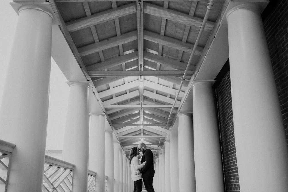 Engagement Photos at UVA Campus