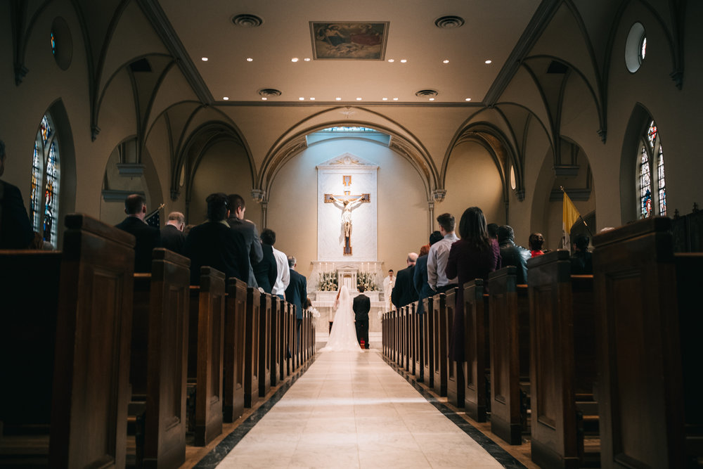 old town alexandria catholic wedding