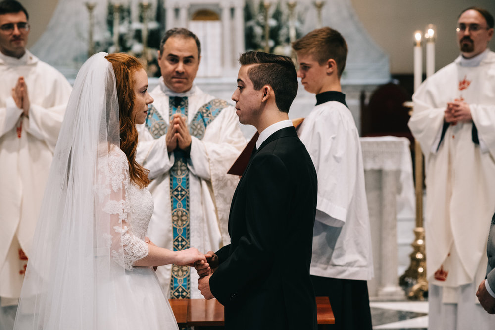 catholic wedding vows basilica of saint mary alexandria