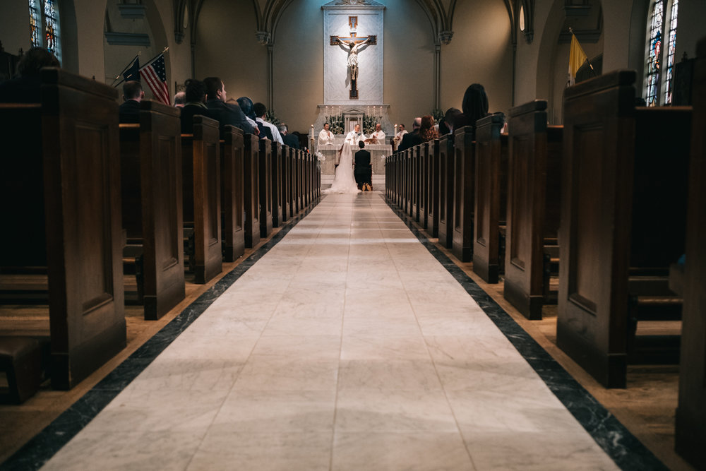basilica of saint mary catholic wedding in old town alexandria