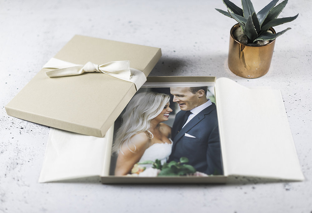 Prints - The easiest way to make your wedding tangible. Self-service ordering from your Online Gallery. We offer lustre glossy finish prints as well as gorgeous deep matte offerings. Pricing varies by size.