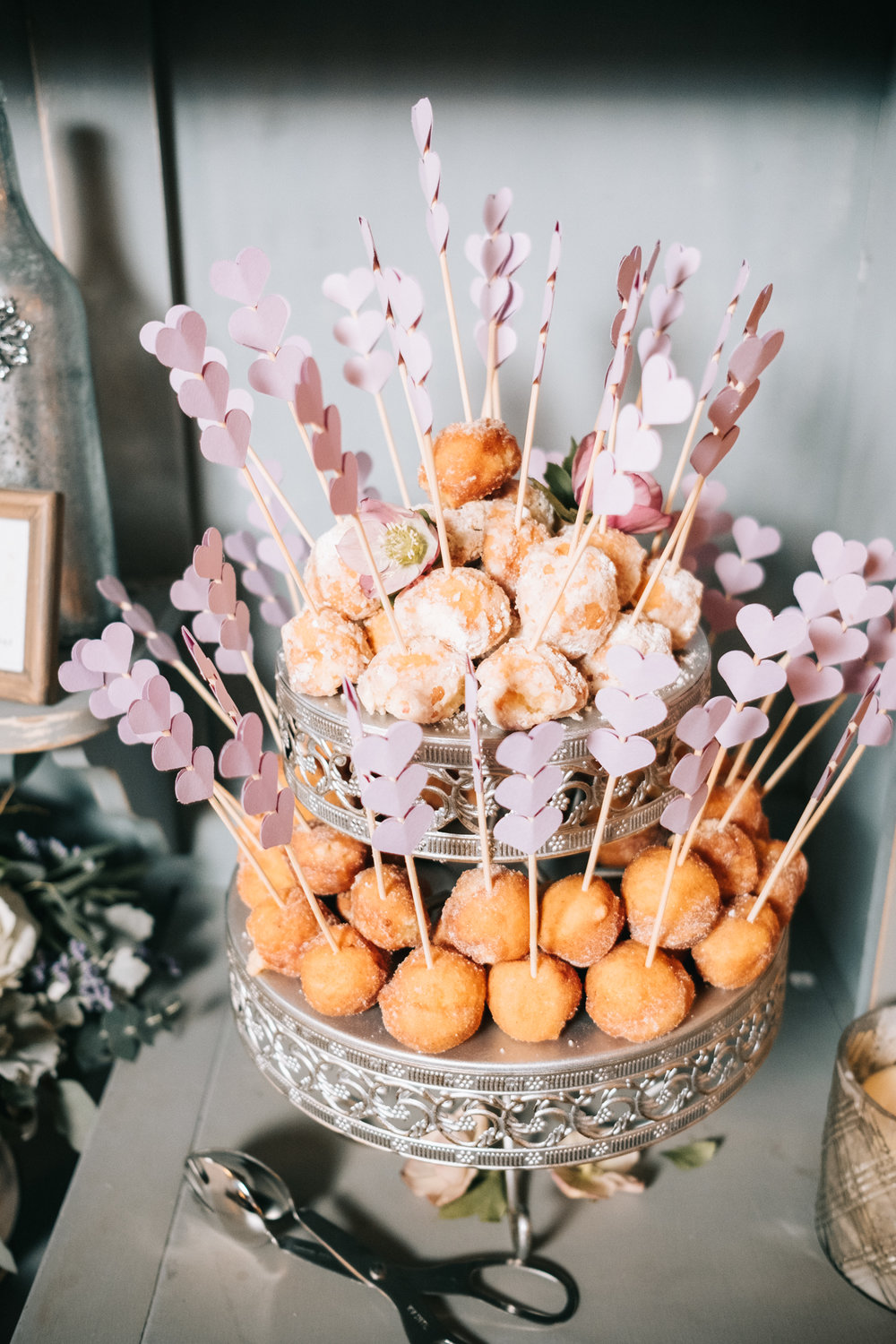 purcelleville virginia desert display donut holes