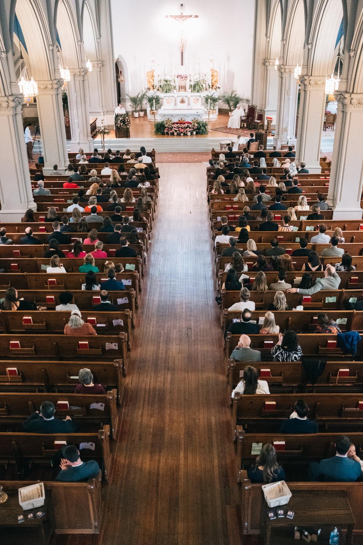 St Joseph Catholic Church Wedding in DC