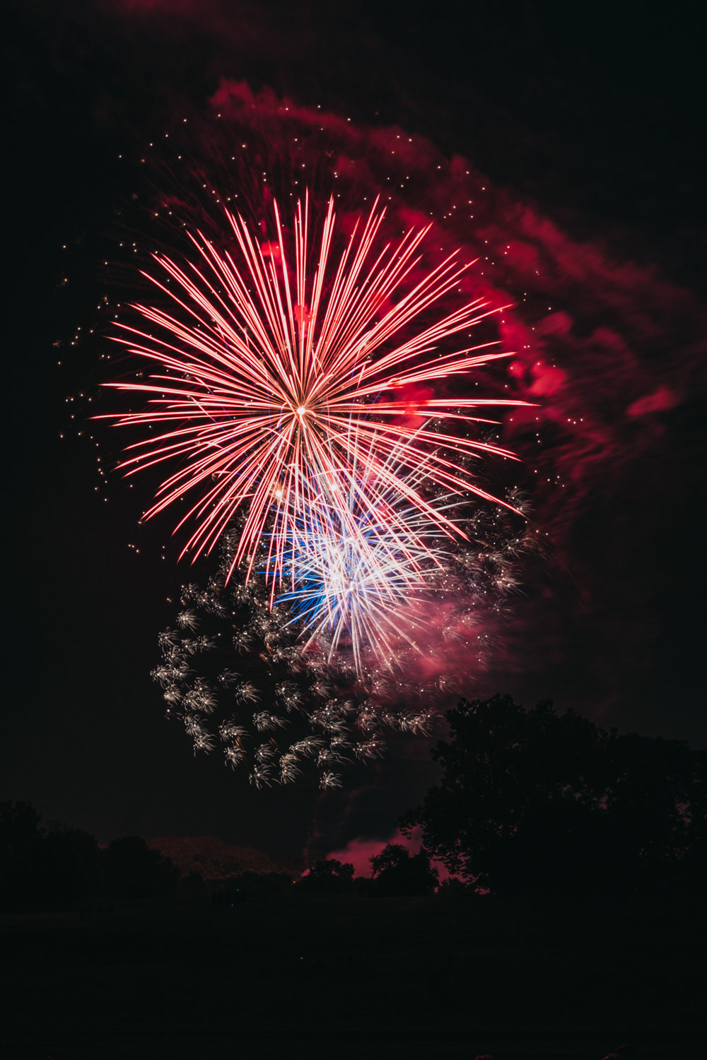 Leesburg Virginia Fireworks Fourth of July