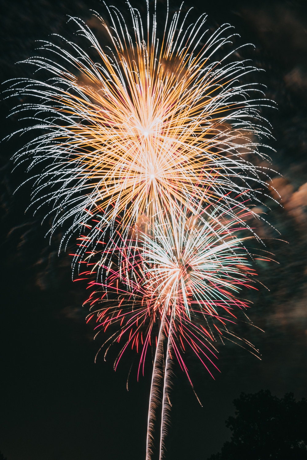 Ida Lee Park Fireworks Fourth of July Celebration
