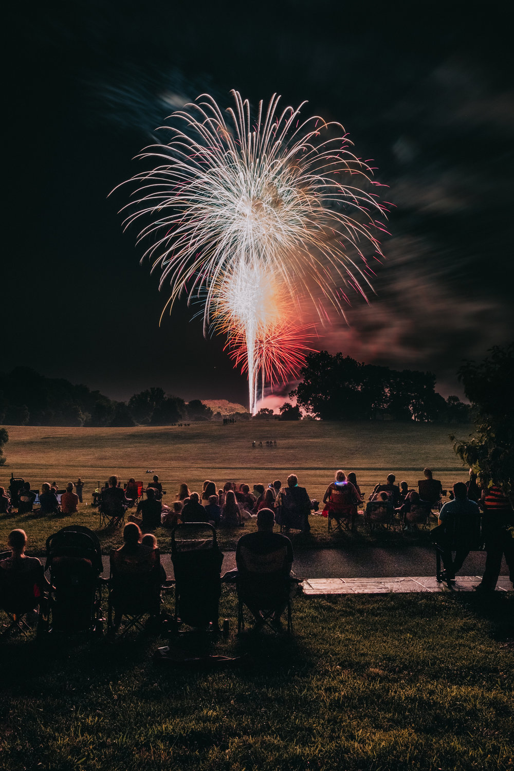 Leesburg Ida Lee Fourth of July Fireworks 2018