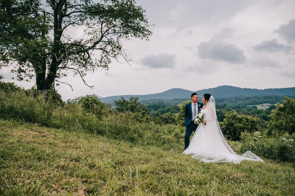 blue valley winery mountain portraits first look