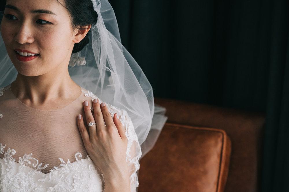 Chinese Bride Bridal Portrait DC Hotel