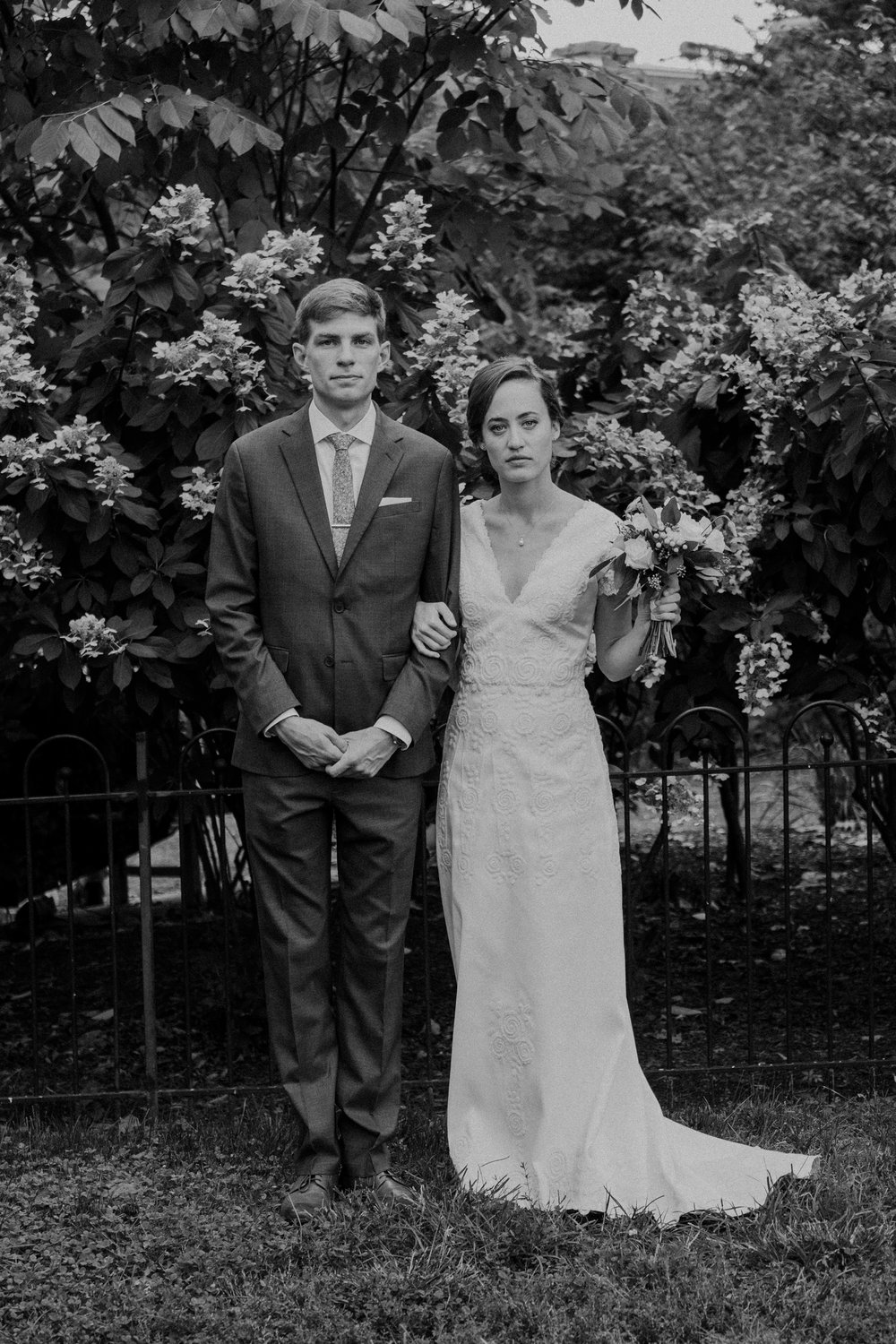 Classic timeless wedding portrait Washington DC