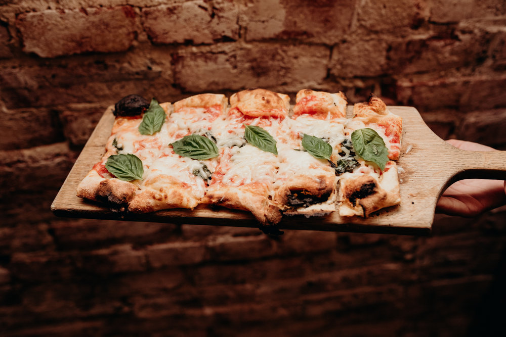 Ghibellina wedding brick oven pizza