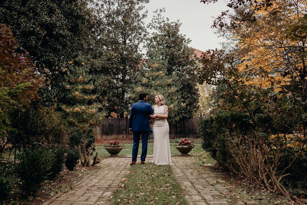 tudor place wedding portrait washington dc