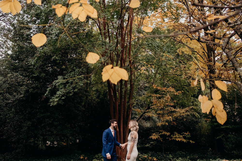 autumn wedding at dc's tudor place