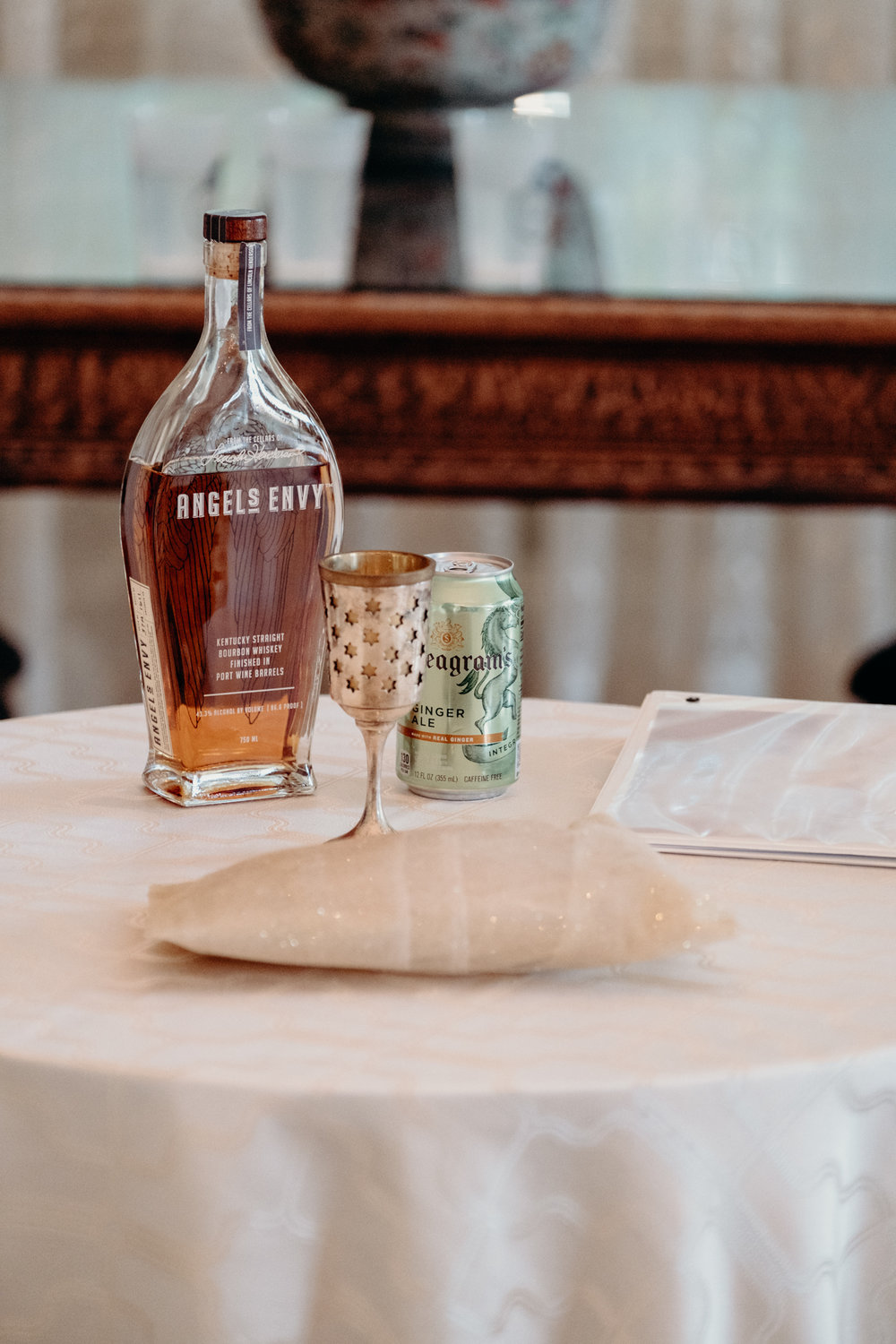 Bourbon to be used for Jewish wedding ceremony at middleburg venue