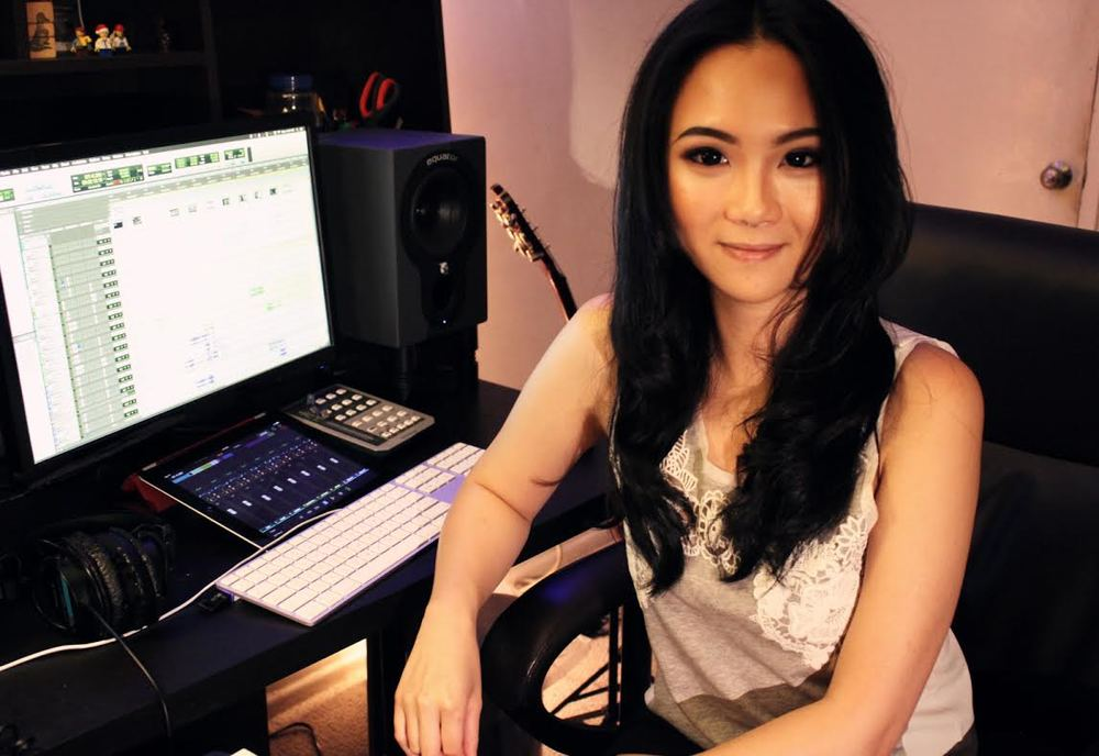 Photo : Yuna Qian - Sound Engineer.