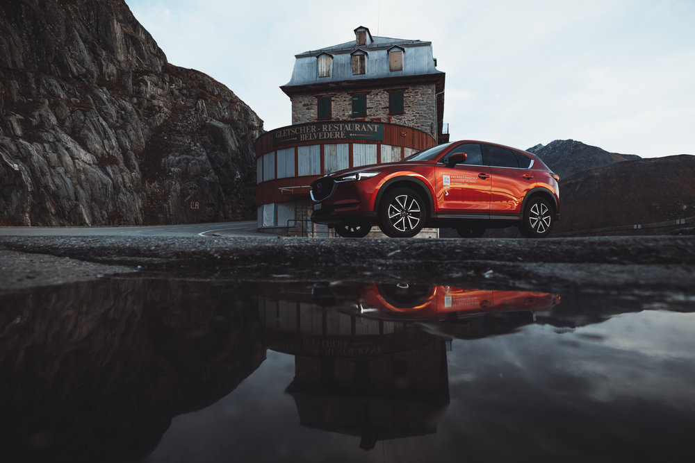 Mazda Germany & Swiss - #MyMagicRoadtrip - 24h challenge in SwitzerlandSocial Media and content campaign