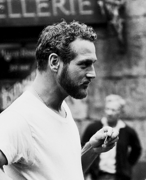 inspiration behind the box...a young Paul Newman in a white cotton tshirt. So sensual. Elegant yet raw.