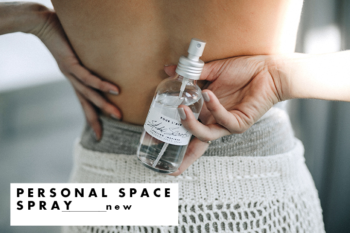 Pour l'air personal space spray