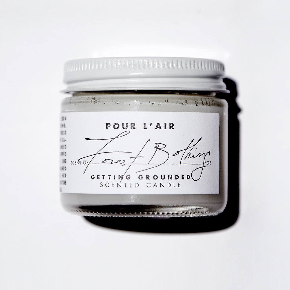 Forest Bathing Travel Candle