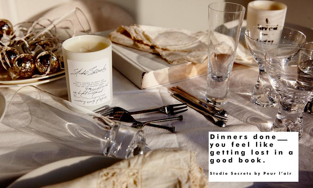 Pour l'air scents Studio Secrets hostess gift