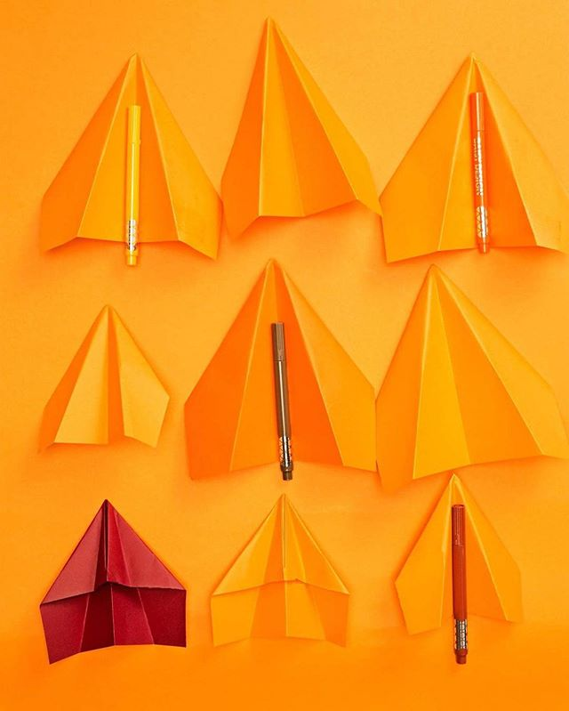 Play with color. Для @daisydesign_magazine Стиль @vavarvelous #orange #kinfolk #yellowmonday #play #color #minimal #minimalism
