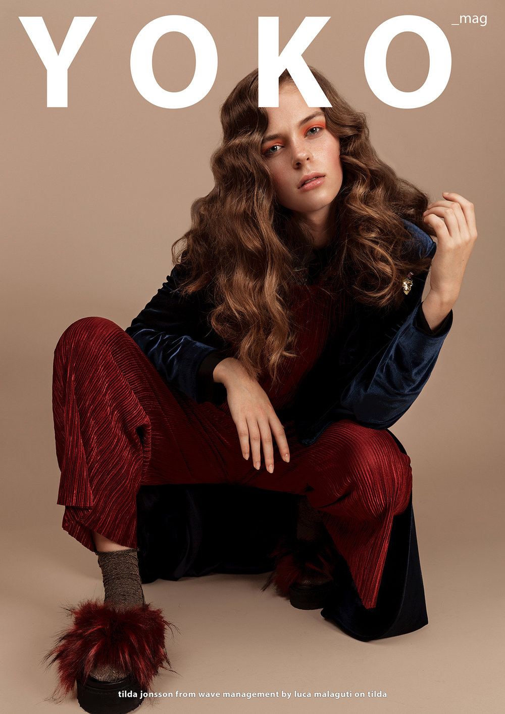 Luca Malaguti - Tilda editorial for Yoko Magazine