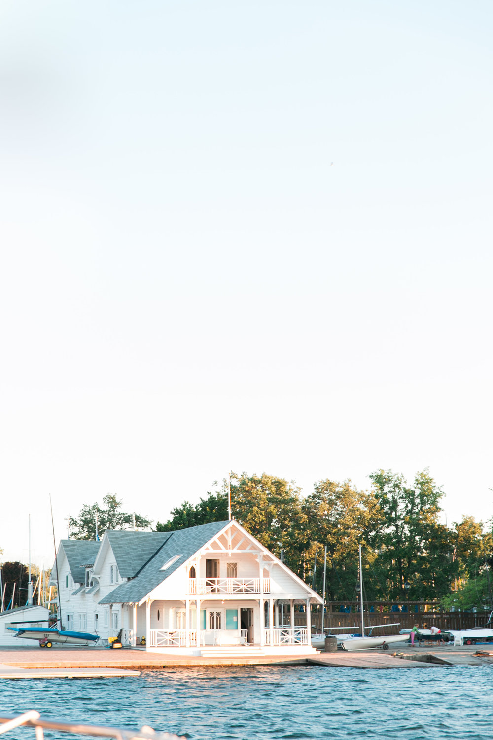 The Royal Canadian Yacht Club boathouse