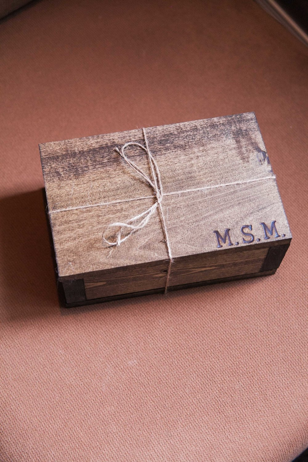 Homemade wooden groomsmen gifts