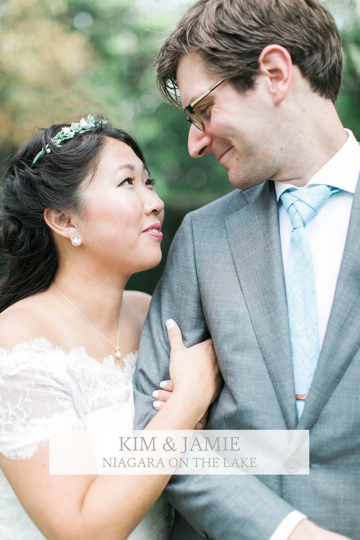 Kim & Jamie Niagara Wedding