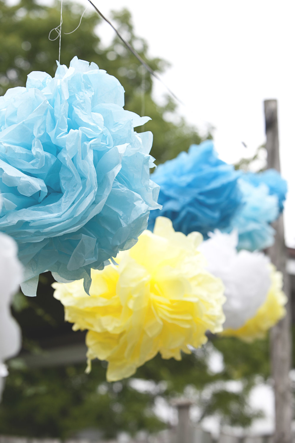 DIY wedding decorations for summer wedding