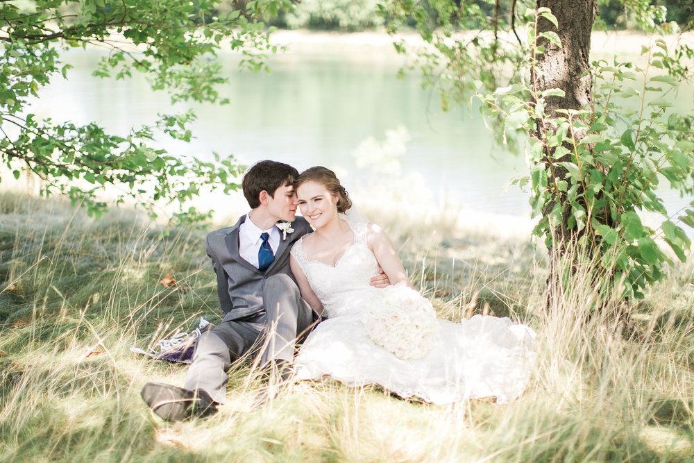 Bridal photos at Fifty Point Conservation Area in Hamilton Ontario